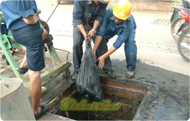 hút hầm cầu tại chợ gạo