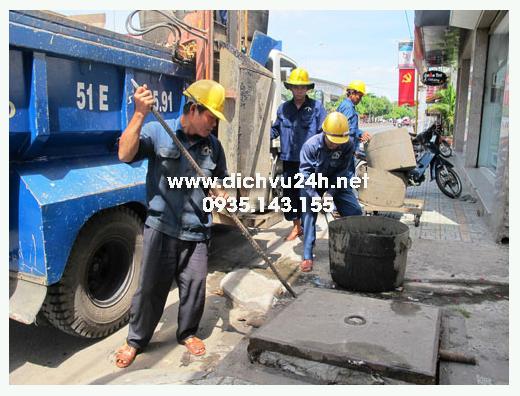 hút hầm cầu huyện phong điền