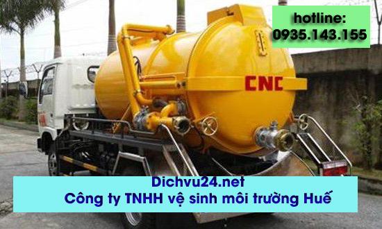 hút hầm cầu tại huyện phong điền