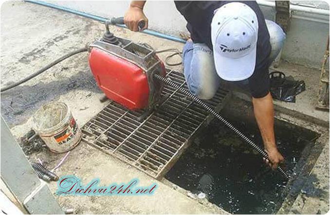 thông cống nghẹt tại huyện tân phú đông